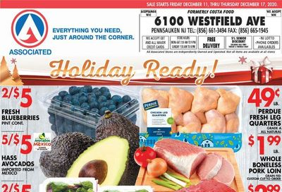 Associated Supermarkets Weekly Ad Flyer December 11 to December 17