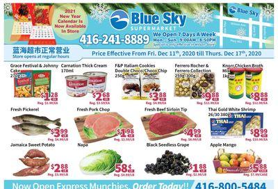 Blue Sky Supermarket (North York) Flyer December 11 to 17