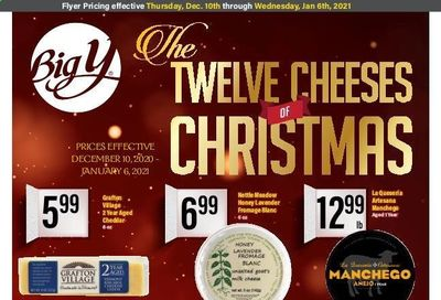 Big Y (CT, MA) Weekly Ad Flyer December 10 to January 6