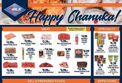 7 Mile Market Hanukkah Weekly Ad Flyer December 13 to December 18, 2020