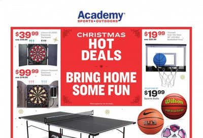 Academy Sports Weekly Ad Flyer December 14 to December 20