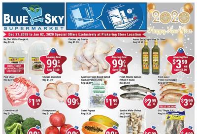 Blue Sky Supermarket (Pickering) Flyer December 27 to January 2