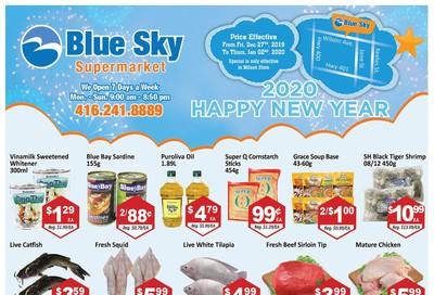 Blue Sky Supermarket (North York) Flyer December 27 to January 2