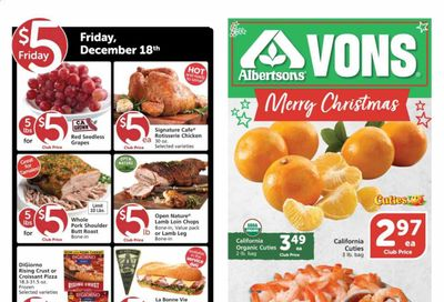Albertsons Weekly Ad Flyer December 16 to December 22