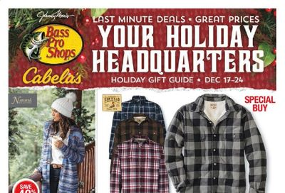 Bass Pro Shops Weekly Ad Flyer December 17 to December 24