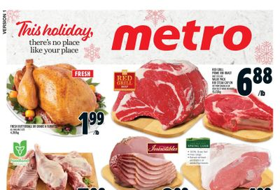 Metro (ON) Flyer December 17 to 24