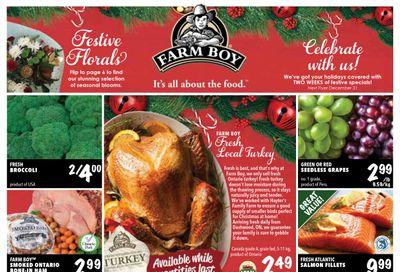 Farm Boy Flyer December 17 to 30