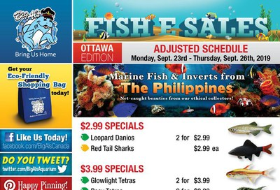 Big Al's (Ottawa East) Weekly Specials September 23 to 26
