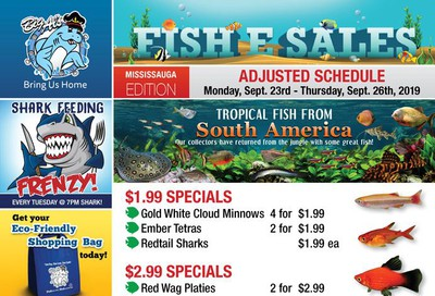 Big Al's (Mississauga) Weekly Specials September 23 to 26