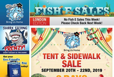 Big Al's (London) Weekend Specials September 23 to 26