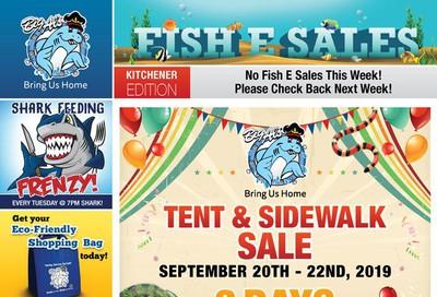 Big Al's (Kitchener) Weekly Specials September 23 to 26