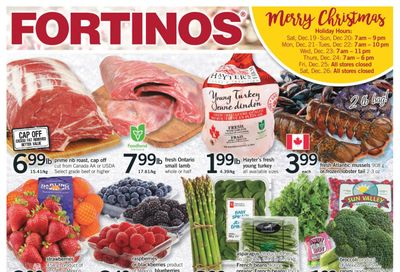 Fortinos Flyer December 17 to 24