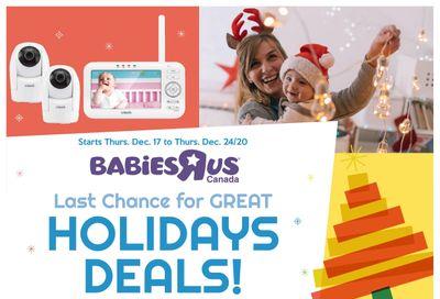 Babies R Us Flyer December 17 to 24