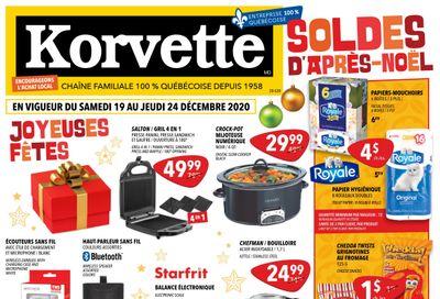 Korvette Flyer December 19 to 24