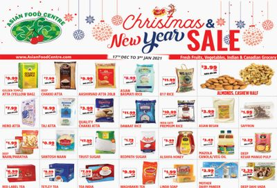 Asian Food Centre Flyer December 17 to January 3