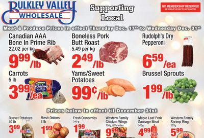Bulkley Valley Wholesale Flyer December 17 to 31