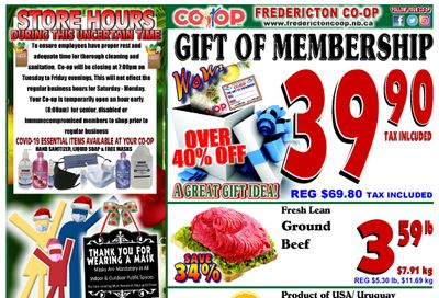 Fredericton Co-op Flyer December 17 to 30