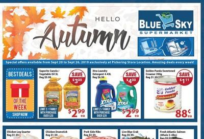 Blue Sky Supermarket (Pickering) Flyer September 20 to 26