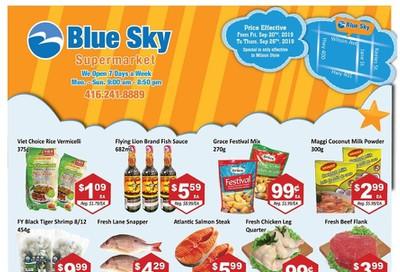 Blue Sky Supermarket (North York) Flyer September 20 to 26