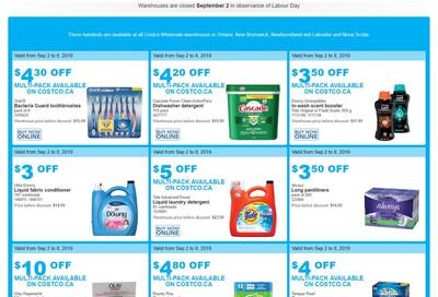 Costco (ON & Atlantic Canada) Weekly Savings September 2 to 8