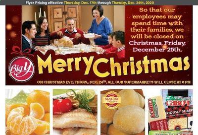 Big Y (MA) Weekly Ad Flyer December 17 to December 24