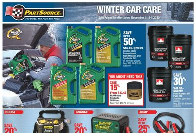 PartSource Flyer December 18 to 24