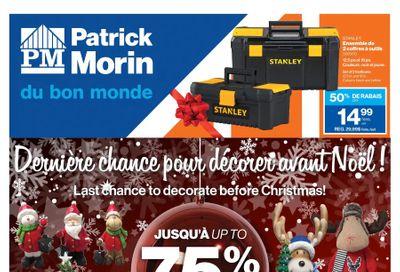 Patrick Morin Flyer December 17 to 23