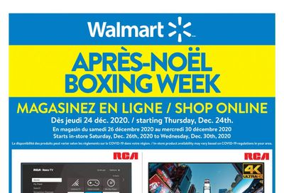 Walmart (QC) Boxing Day/Week Flyer December 24 to 30, 2020