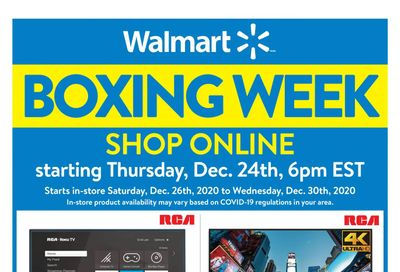 Walmart (ON) Boxing Day/Week Flyer December 24 to 30, 2020