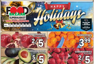 Food Bazaar Supermarket Holiday Weekly Ad Flyer December 17 to December 23, 2020