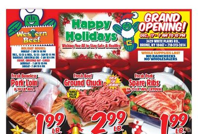 Western Beef Holiday Weekly Ad Flyer December 17 to December 24, 2020