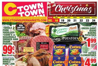 C-Town Weekly Ad Flyer December 18 to December 24