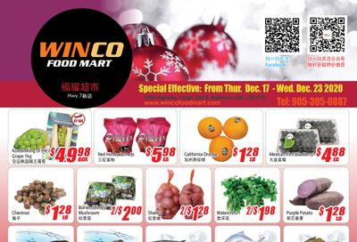 WinCo Food Mart (HWY 7) Flyer December 17 to 23
