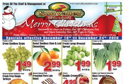 Sun Valley Market Flyer December 18 to 24