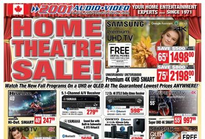 2001 Audio Video Flyer September 20 to 26