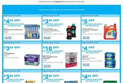 Costco (AB) Weekly Savings September 2 to 8