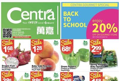 Centra Foods (Barrie) Flyer September 20 to 26