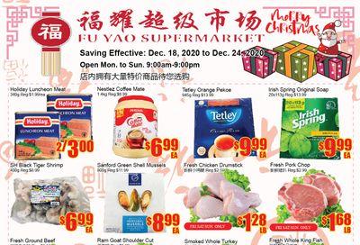 Fu Yao Supermarket Flyer December 18 to 24