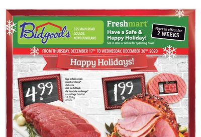 Bidgood's Flyer December 17 to 30