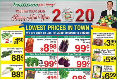 Fruiticana (BC) Flyer December 27 to January 1