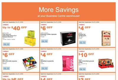 Costco Business Centre (Scarborough, ON) Instant Savings Flyer September 2 to 15
