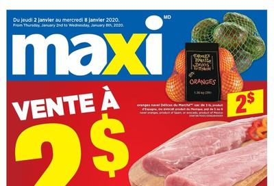 Maxi Flyer January 2 to 8