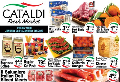Cataldi Fresh Market Flyer January 2 to 7