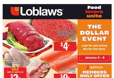 Loblaws (ON) Flyer January 2 to 8