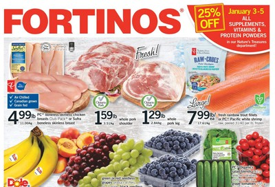 Fortinos Flyer January 2 to 8