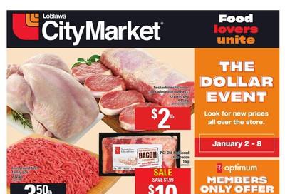 Loblaws City Market (West) Flyer January 2 to 8