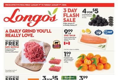 Longo's Flyer January 3 to 7