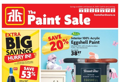 Home Hardware (ON) Flyer January 2 to 8