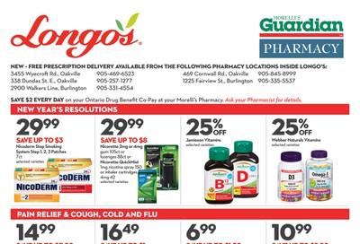Longo's Pharmacy Flyer January 3 to February 5
