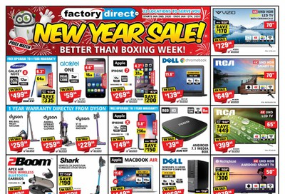 Factory Direct Flyer January 2 to 12